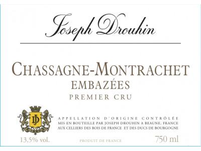 Chassagne Montrachet Embazées