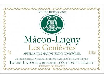 Mâcon Lugny Les Genièvres