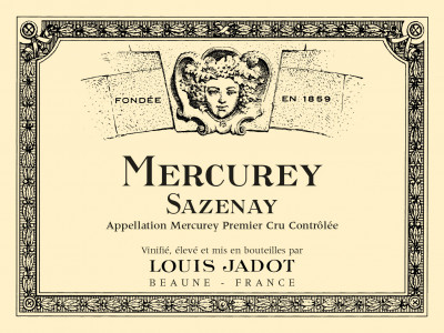 Carton de 3 bouteilles de Mercurey blanc Sazenay 2017