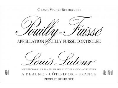 Carton de 3 bouteilles de Pouilly Fuissé 2017