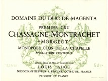 Chassagne Montrachet Rouge Clos de la Chapelle