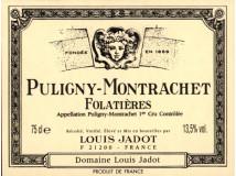 La bouteille de Puligny Montrachet Folatières 2016