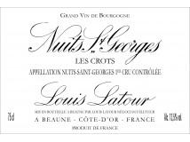 Nuits Saint Georges Les Crots