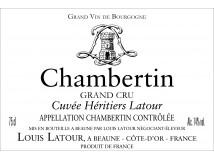Chambertin Domaine Héritiers Latour