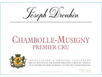 Chambolle Musigny 1er cru