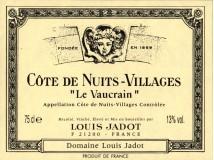 Côte de Nuits Villages Le Vaucrain