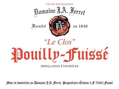 Pouilly Fuissé Le Clos