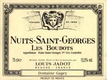 Nuits St Georges Boudots