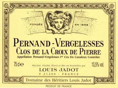Pernand Vergelesses Croix de Pierre