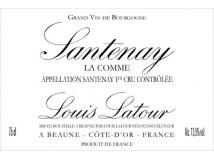 Santenay La Comme