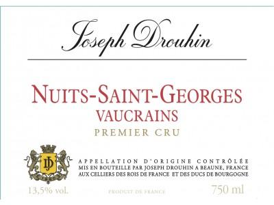 Nuits St Georges Vaucrains