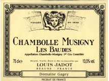 Chambolle Musigny Les Baudes