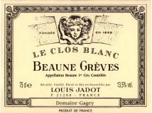 Beaune Grèves Le Clos Blanc