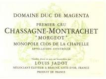 Chassagne Montrachet Morgeot