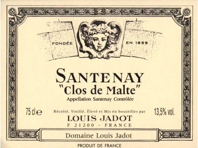 Santenay Clos de Malte Blanc