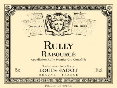 Carton de 3 bouteilles de Rully blanc Rabourcé 2015